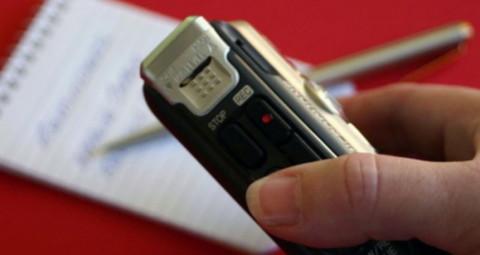 Производство и использование аудиозаписи в отношении граждан и должностных лиц
