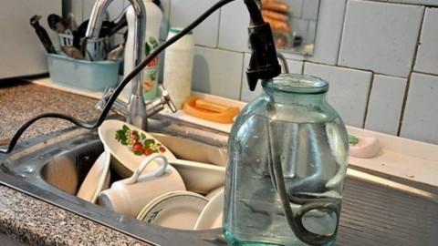 Ресурсник не отвечает за еле теплую воду, если на вводе в дом вода горячая